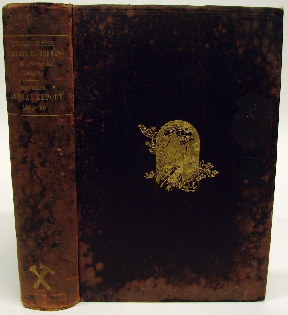 7TH ANNUAL US GEOLOGICAL SURVEY 1885-86