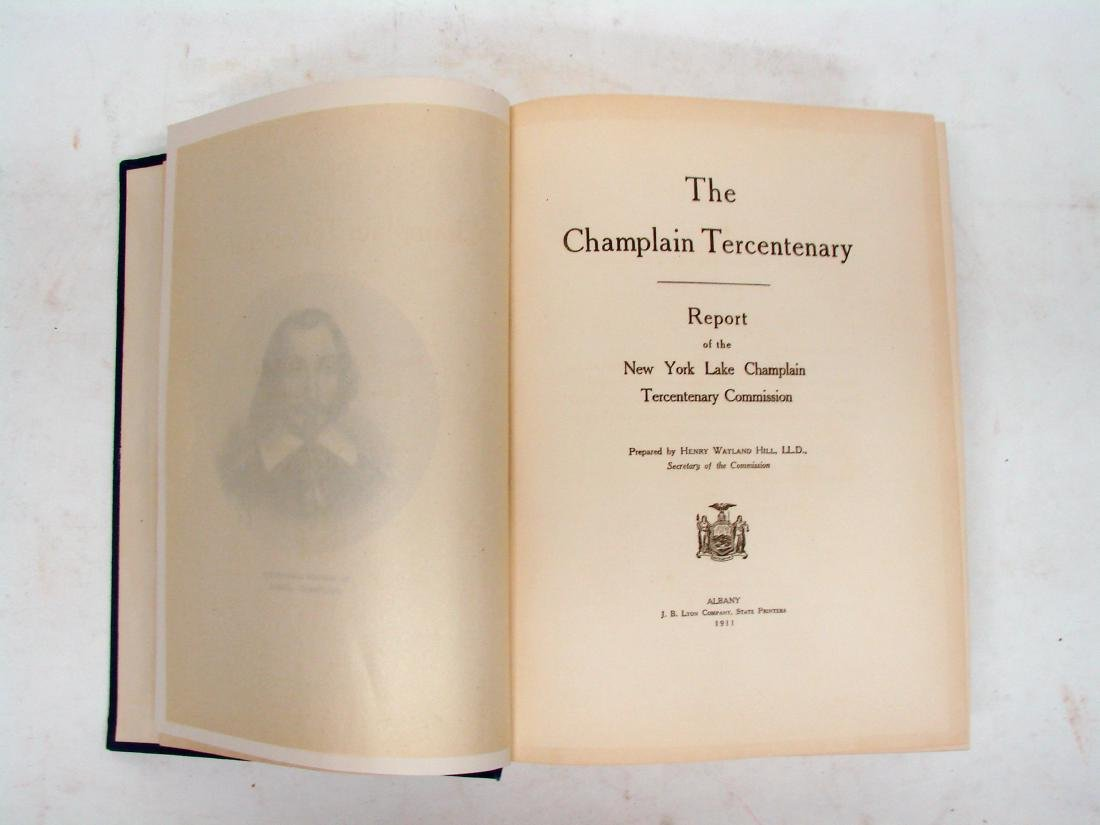 STATE OF NEW YORK: THE CHAMPLAIN TERCENTENARY REPORT - 2