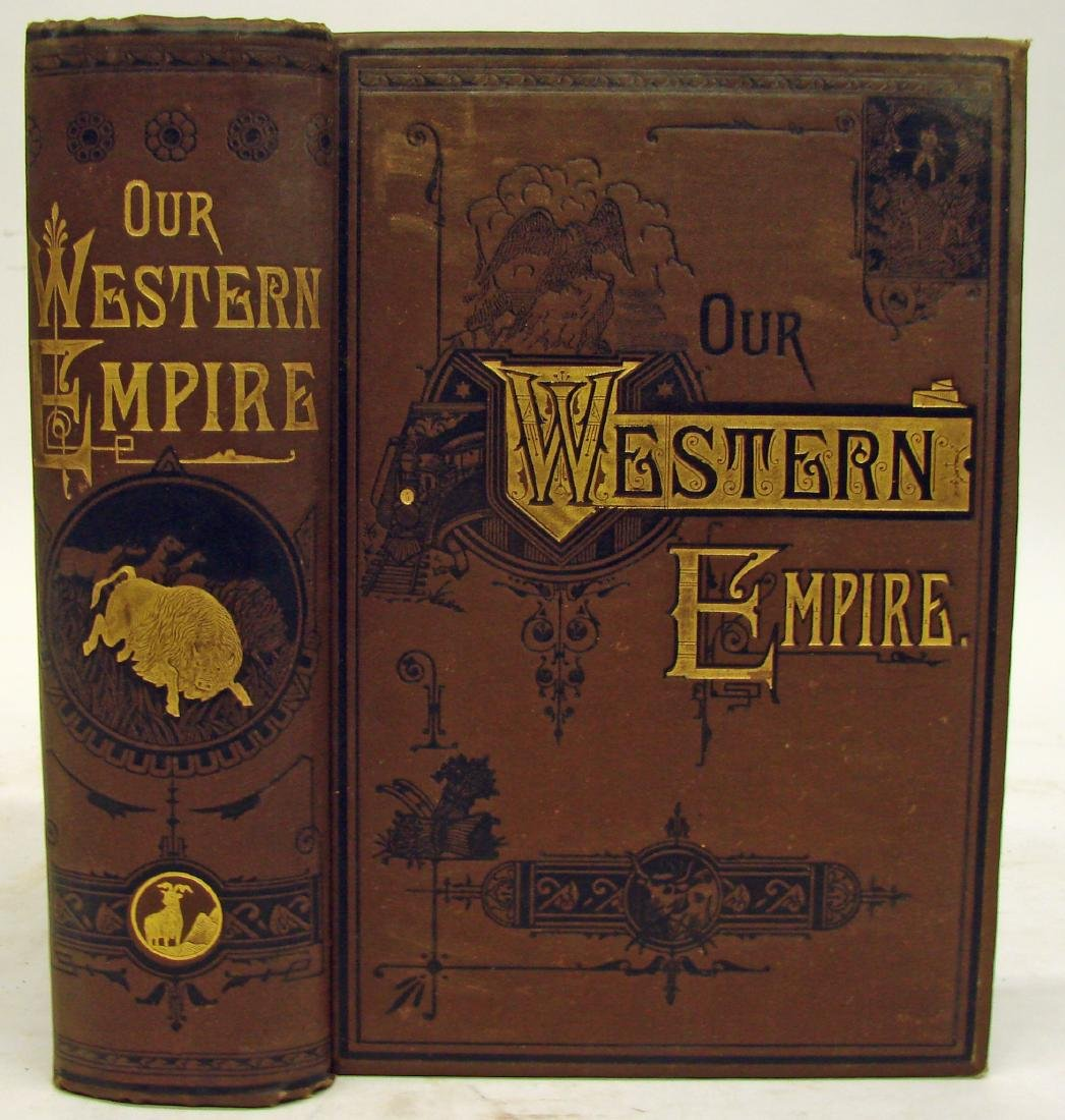 (2) LATE 19TH CENTURY BOOKS ON THE AMERICAN WEST