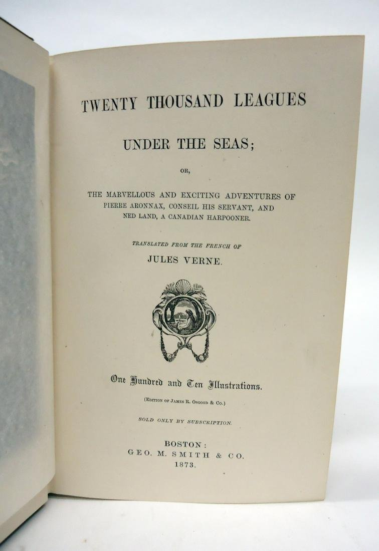VERNE 20,000 LEAGUES UNDER THE SEAS - SMITH 1873 - 2