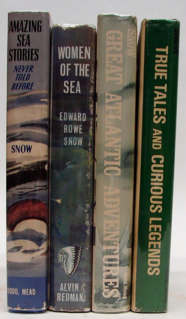 SNOW - NEW ENGLAND / ADVENTURE BOOKS (4)