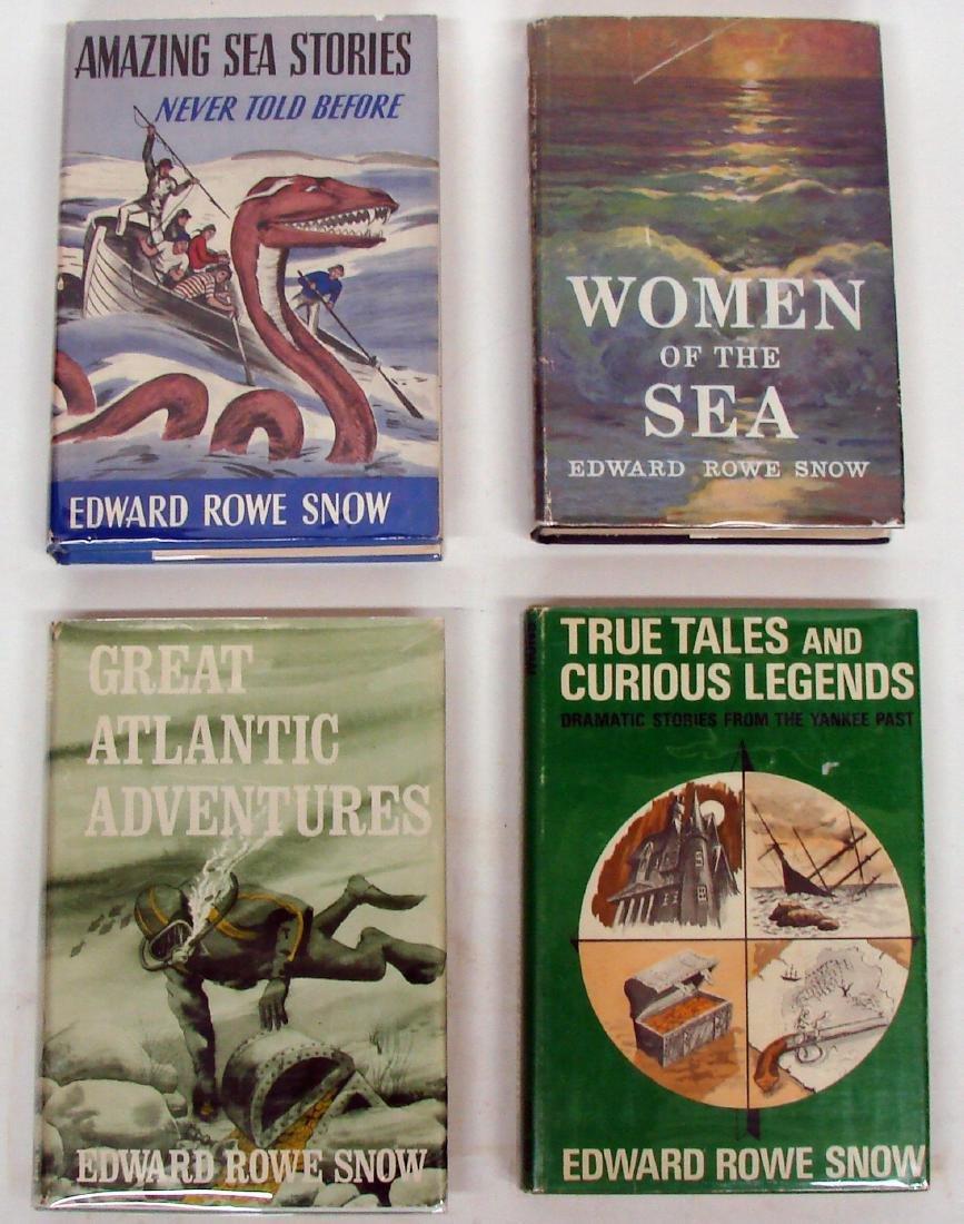 SNOW - NEW ENGLAND / ADVENTURE BOOKS (4) - 2