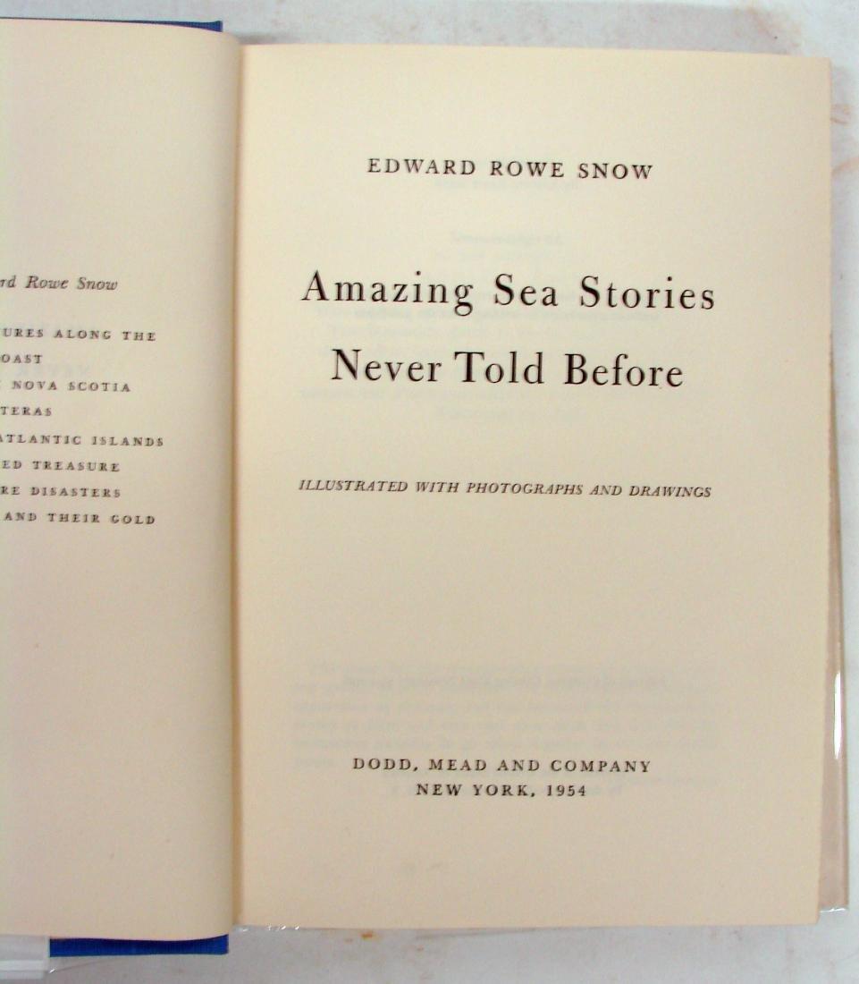 SNOW - NEW ENGLAND / ADVENTURE BOOKS (4) - 3