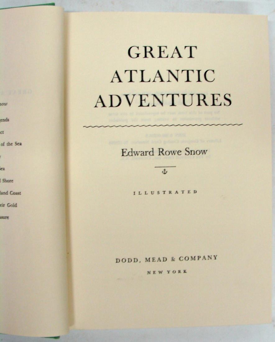 SNOW - NEW ENGLAND / ADVENTURE BOOKS (4) - 9