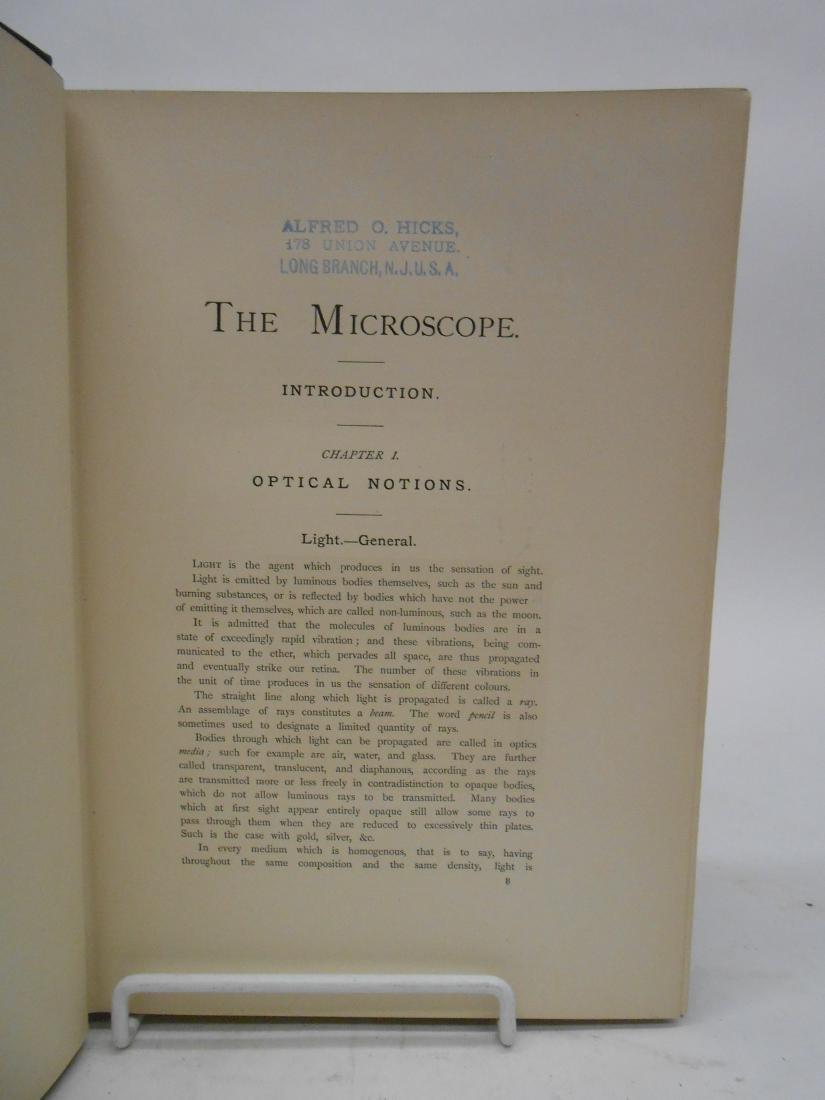 "VAN HEURCK ""THE MICROSCOPE CONSTRUCTION MANAGEMENT"" - 3"