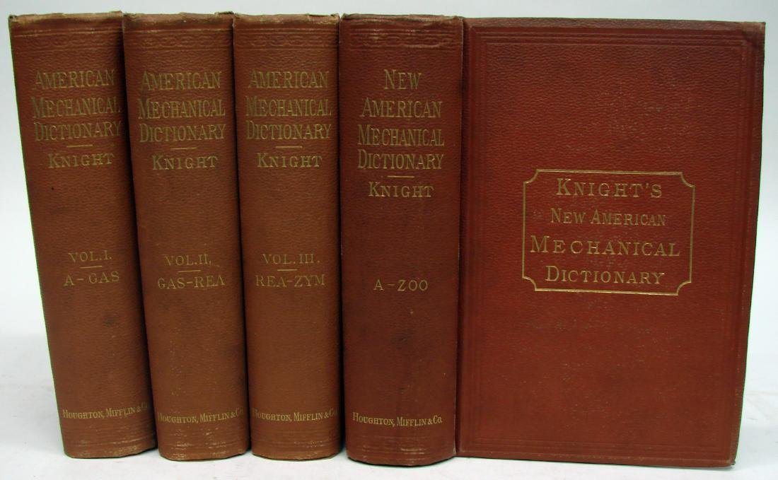 KNIGHT'S AMERICAN MECHANICAL DICTIONARY