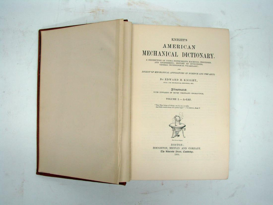 KNIGHT'S AMERICAN MECHANICAL DICTIONARY - 2