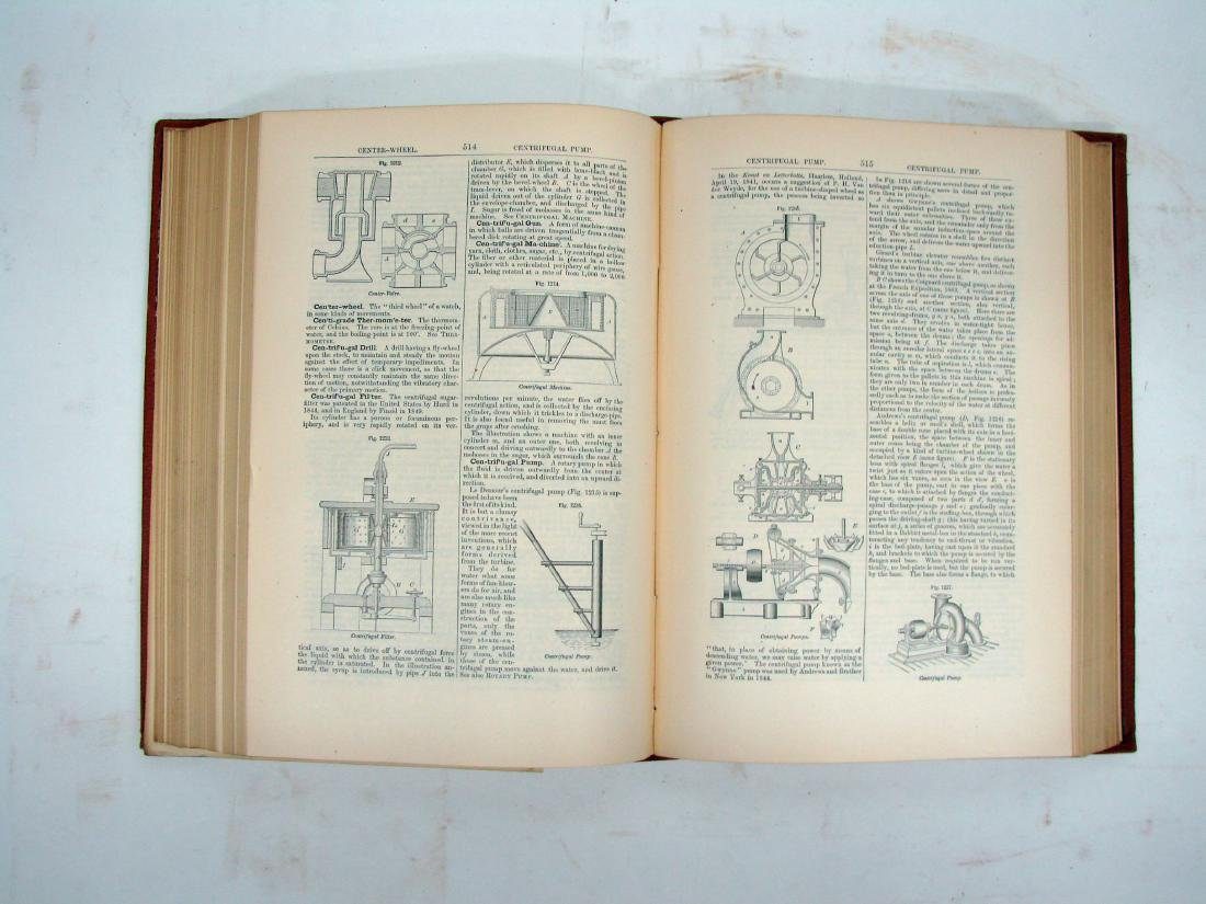 KNIGHT'S AMERICAN MECHANICAL DICTIONARY - 6