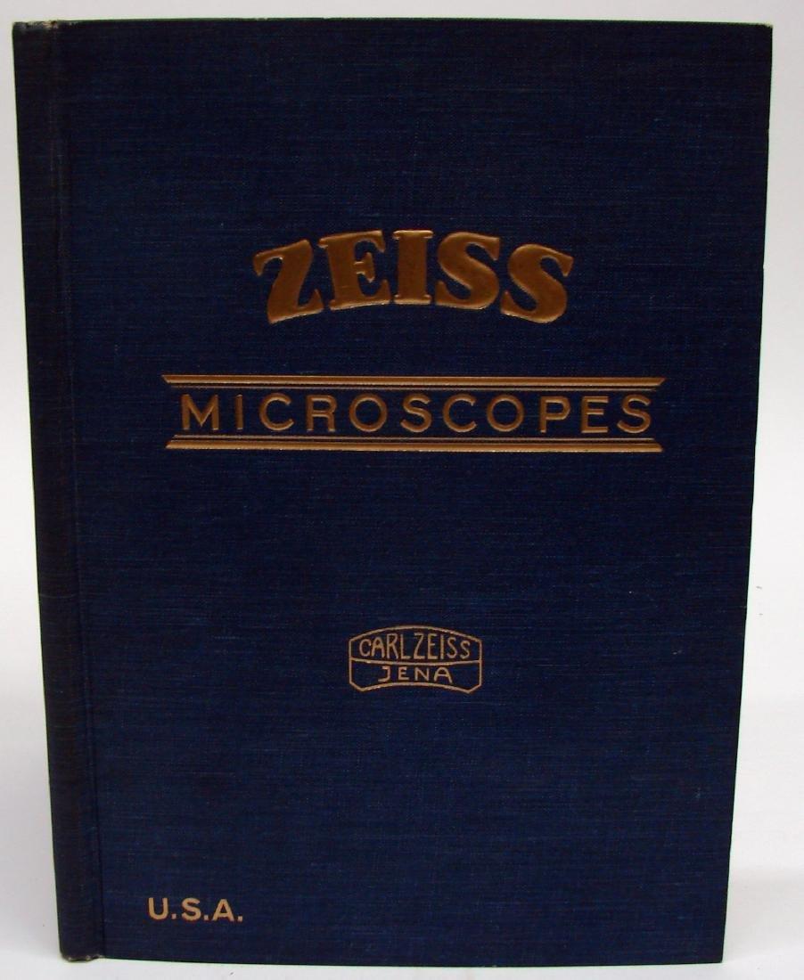 (3) ZEISS MICROSCOPE CATALOGS - 1934 & 1927
