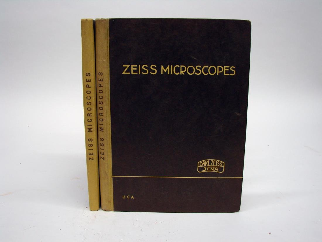 (3) ZEISS MICROSCOPE CATALOGS - 1934 & 1927 - 2
