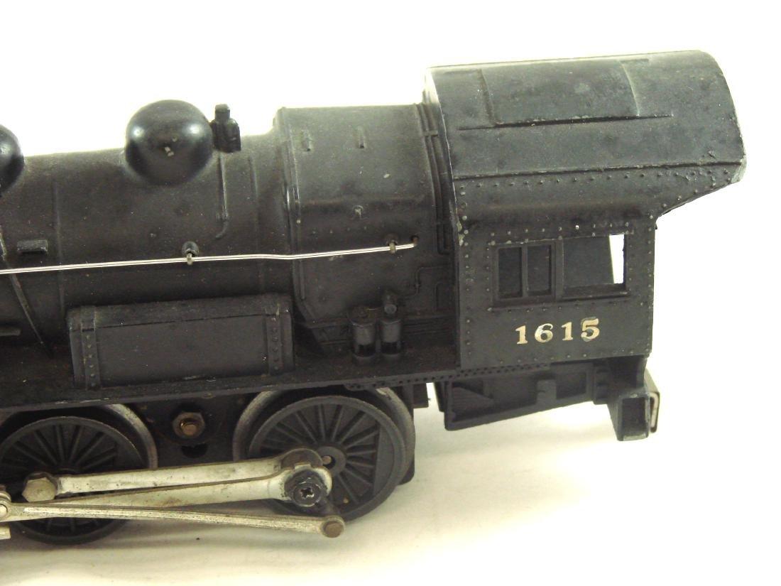 LIONEL 1615 STEAM ENGINE 0-4-0 & 1615T TENDER - 5