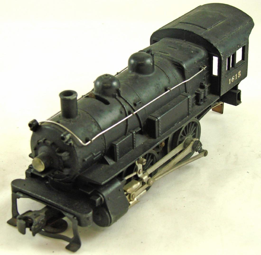LIONEL 1615 STEAM ENGINE 0-4-0 & 1615T TENDER - 6