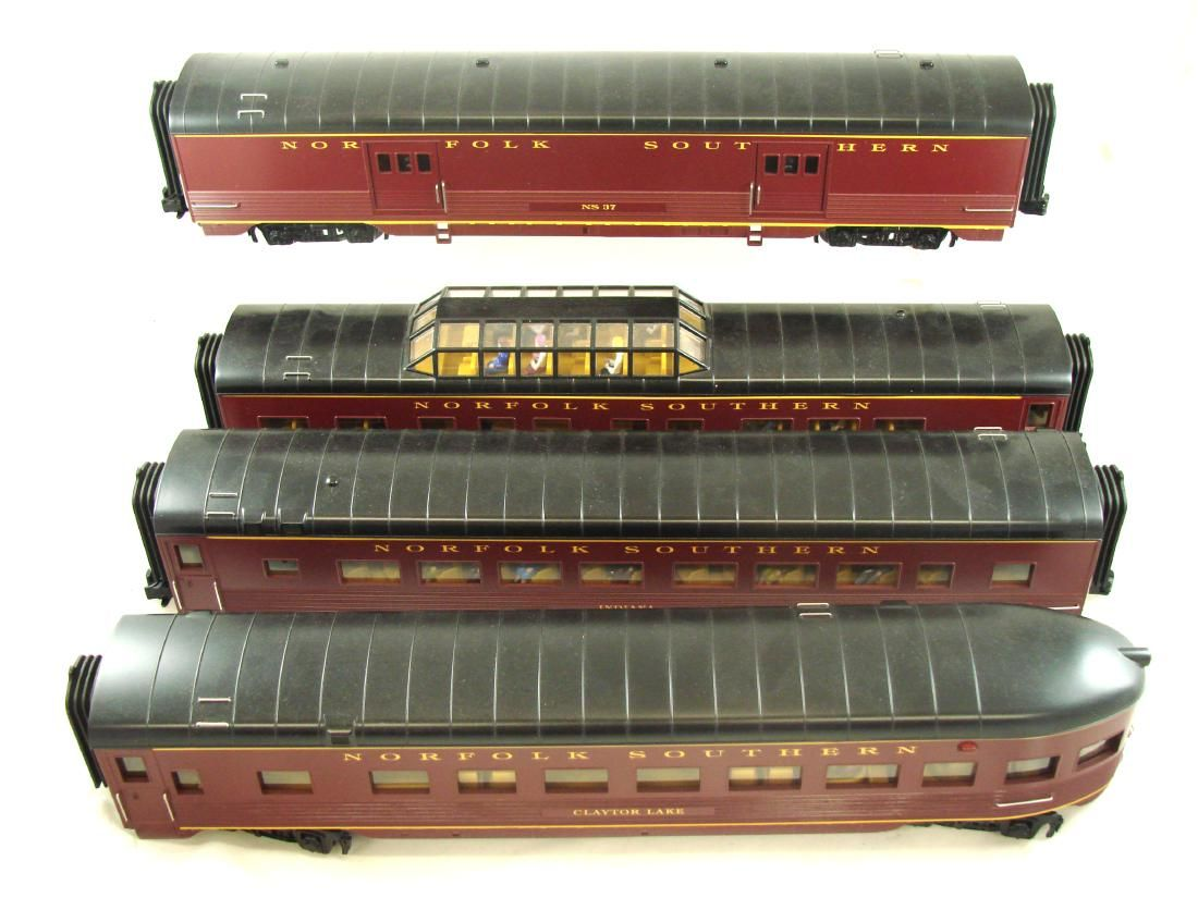 MTH RAIL KING (4) CAR SET