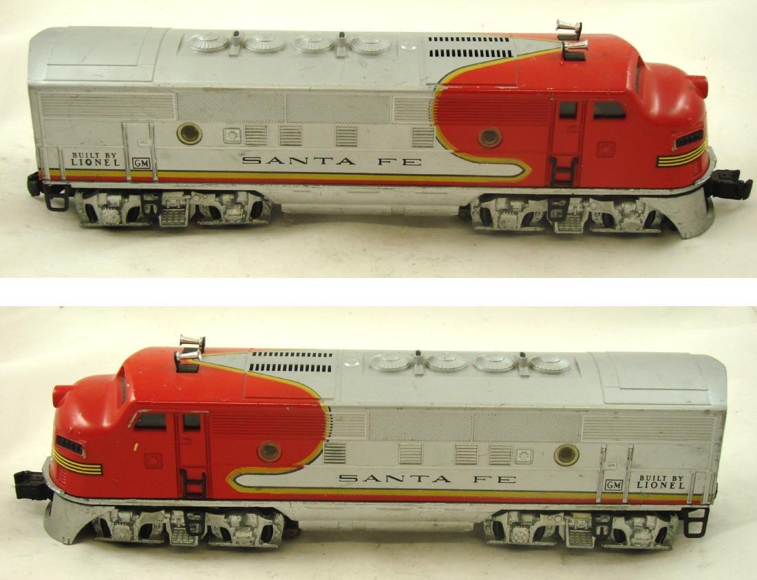 (7) PIECE LIONEL TRAIN SET 2190W - 2