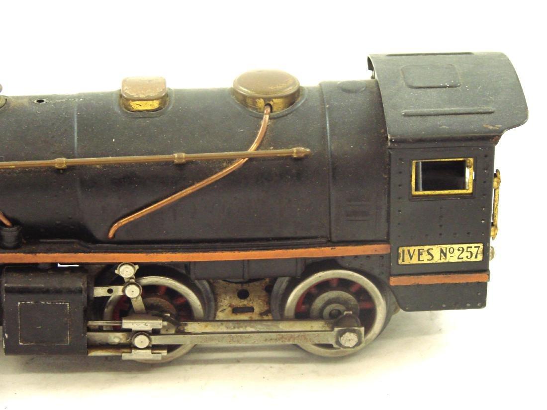 "(5) PIECE 1931 ""O"" GAUGE IVES TRAIN SET - 6"