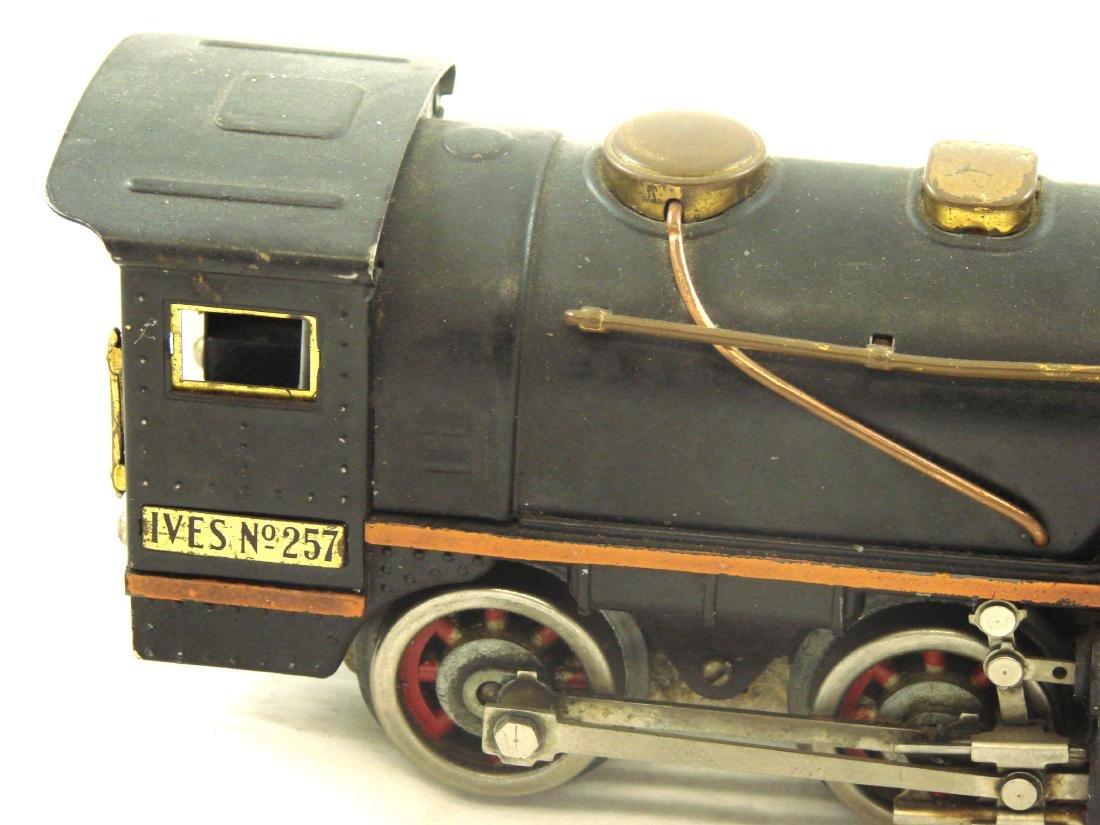 "(5) PIECE 1931 ""O"" GAUGE IVES TRAIN SET - 8"