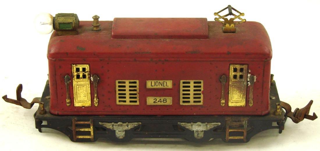 (6) PIECE LIONEL TRAIN SET - O GAUGE - 2