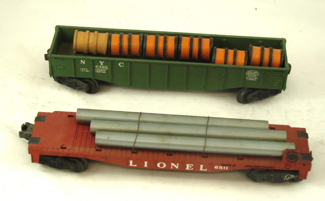 (10) LIONEL ROLLING STOCK CARS - 10