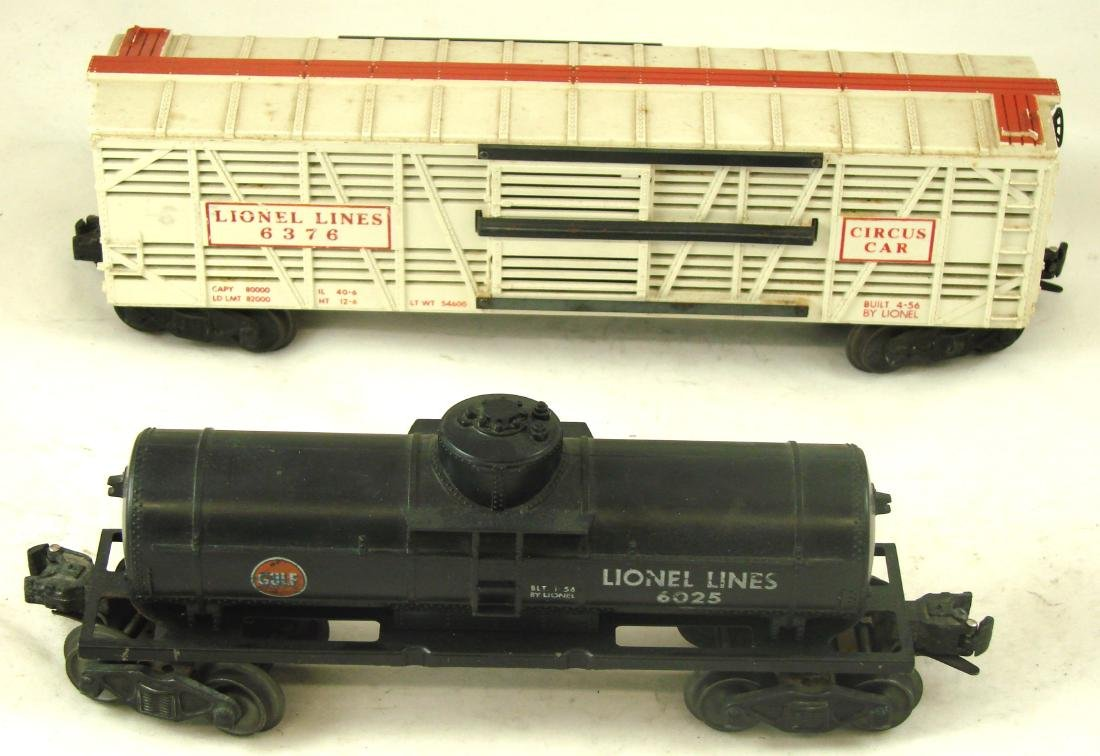 (10) LIONEL ROLLING STOCK CARS - 5