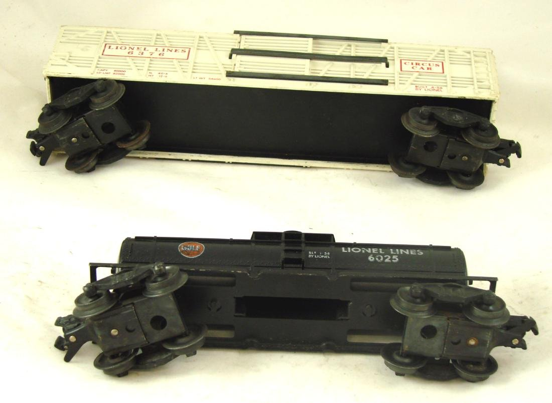 (10) LIONEL ROLLING STOCK CARS - 6