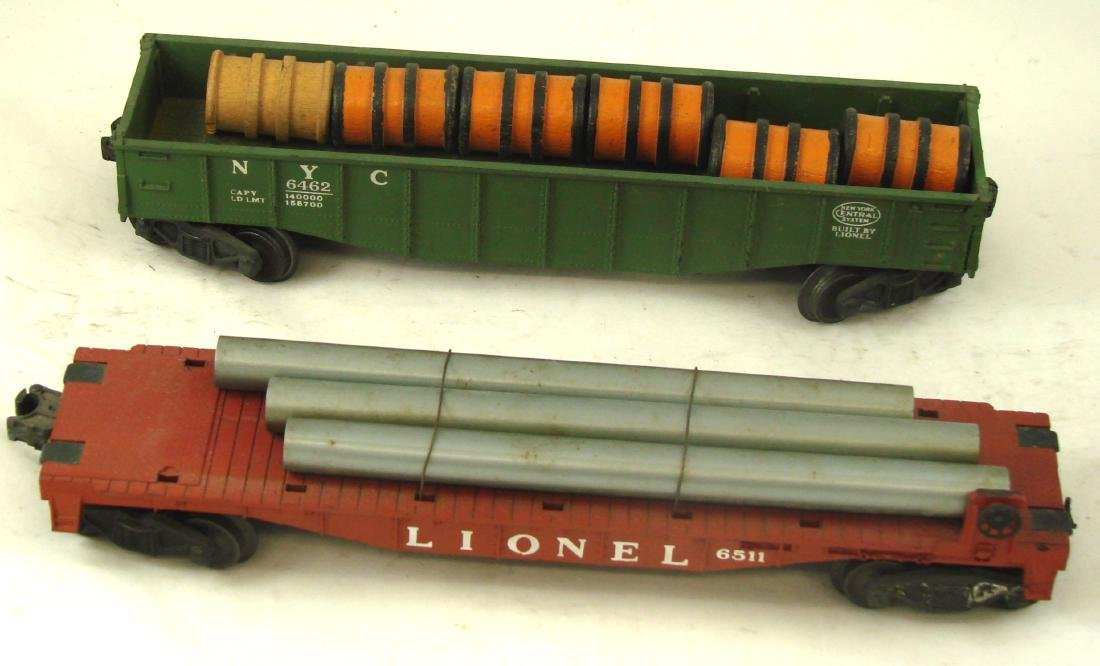 (10) LIONEL ROLLING STOCK CARS - 9