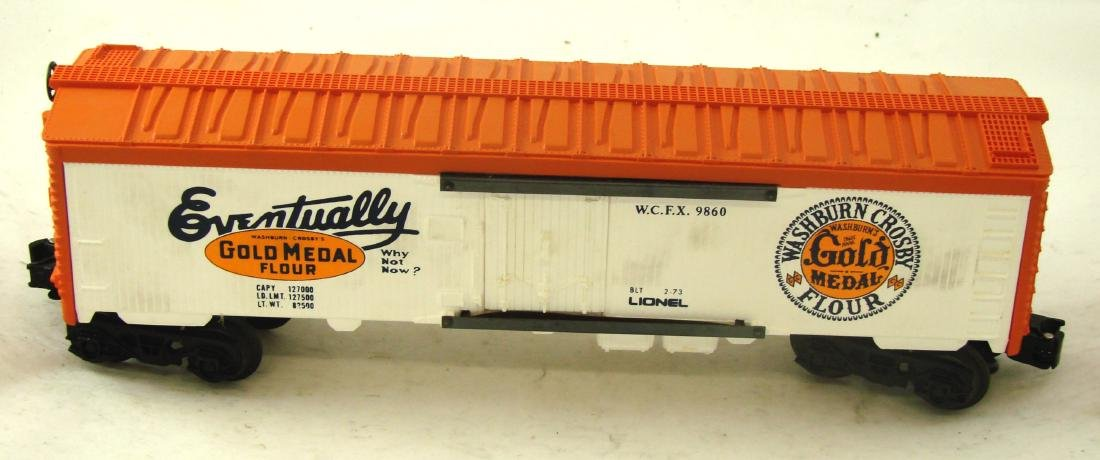 (9) LIONEL ROLLING STOCK CARS - 9