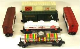 (6) LIONEL ROLLING STOCK CARS