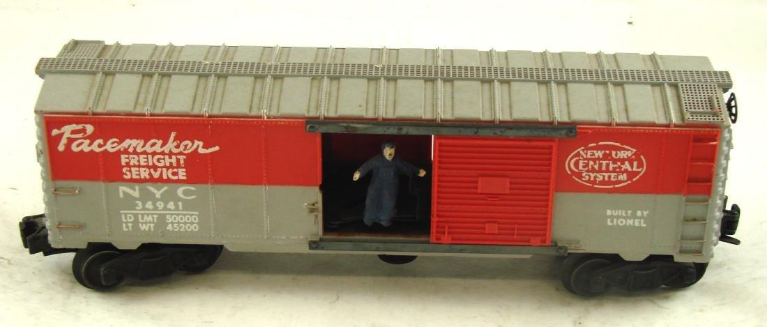 (4) LIONEL CARS - 6