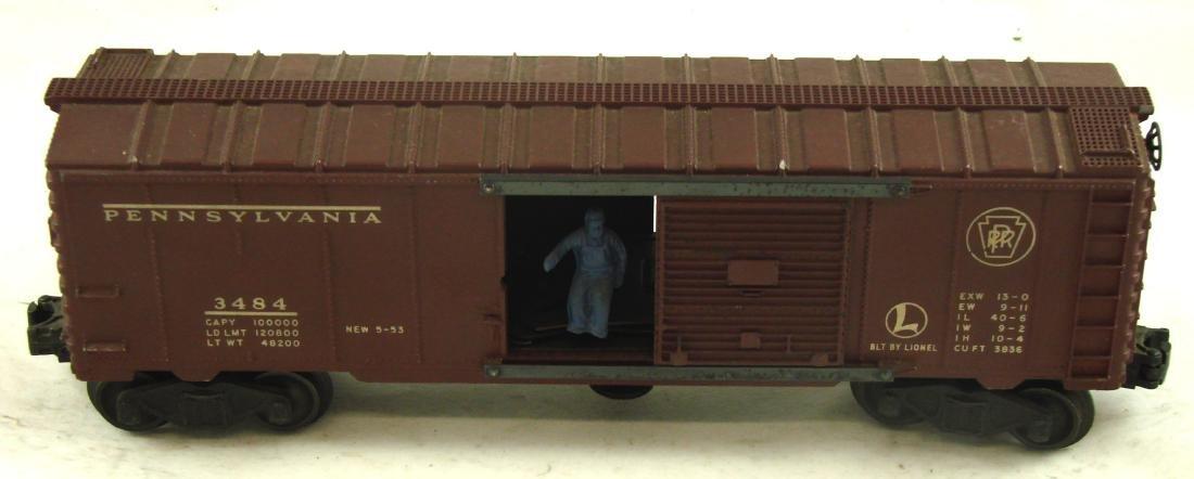 (4) LIONEL CARS - 8