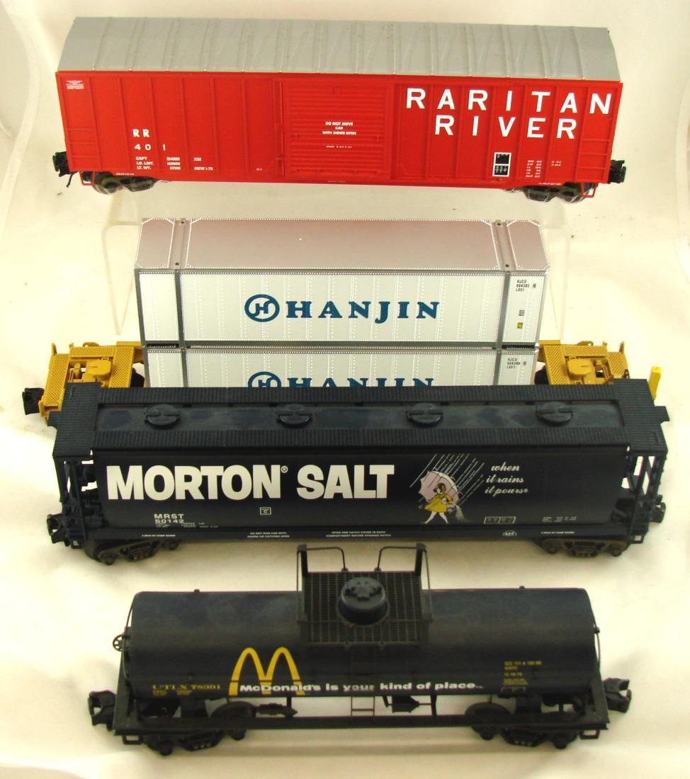 (4) MTH RAIL KING & ATLAS CARS