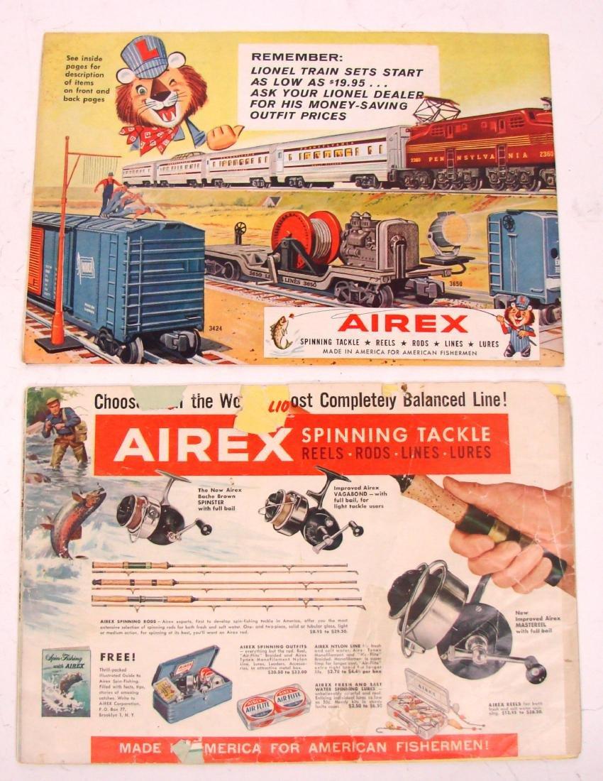 (9) 1950's LIONEL  & AMERICAN FLYER TRAIN CATALOGS & - 10