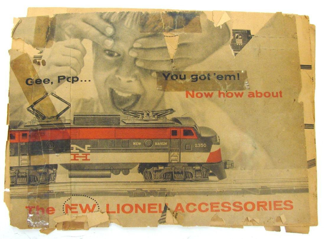 (9) 1950's LIONEL  & AMERICAN FLYER TRAIN CATALOGS & - 2