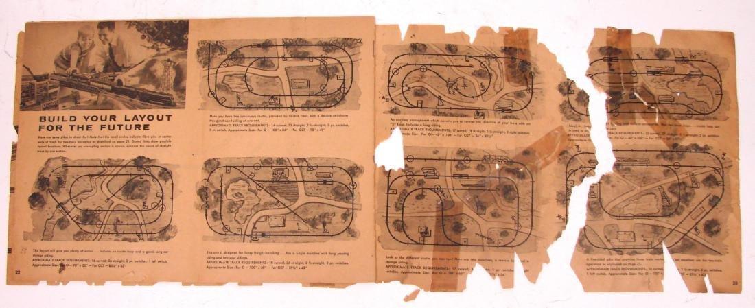 (9) 1950's LIONEL  & AMERICAN FLYER TRAIN CATALOGS & - 4
