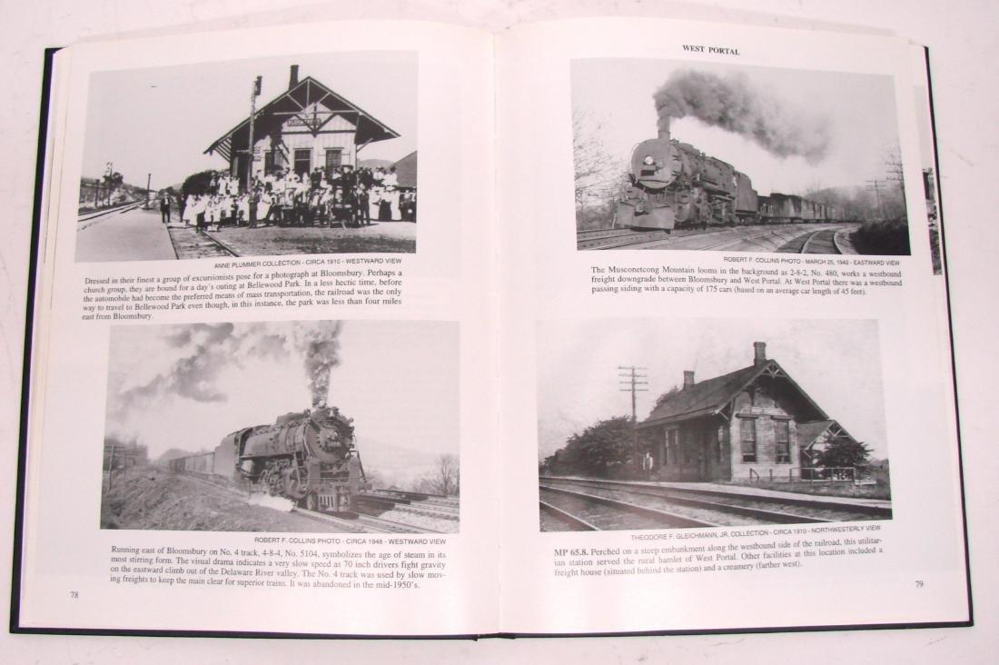 (3) LEHIGH VALLEY RAILROAD BOOKS - 10