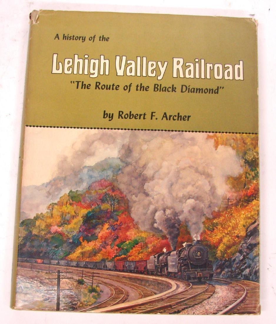 (3) LEHIGH VALLEY RAILROAD BOOKS - 2