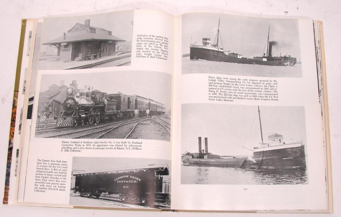 (3) LEHIGH VALLEY RAILROAD BOOKS - 3