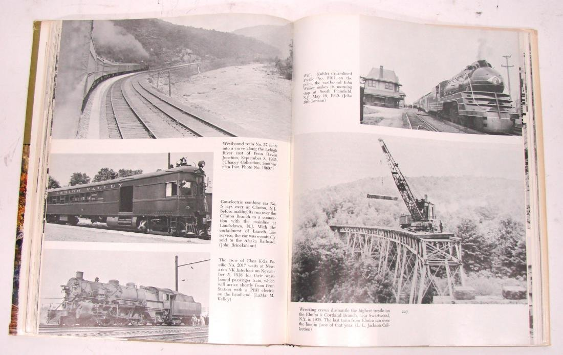 (3) LEHIGH VALLEY RAILROAD BOOKS - 4