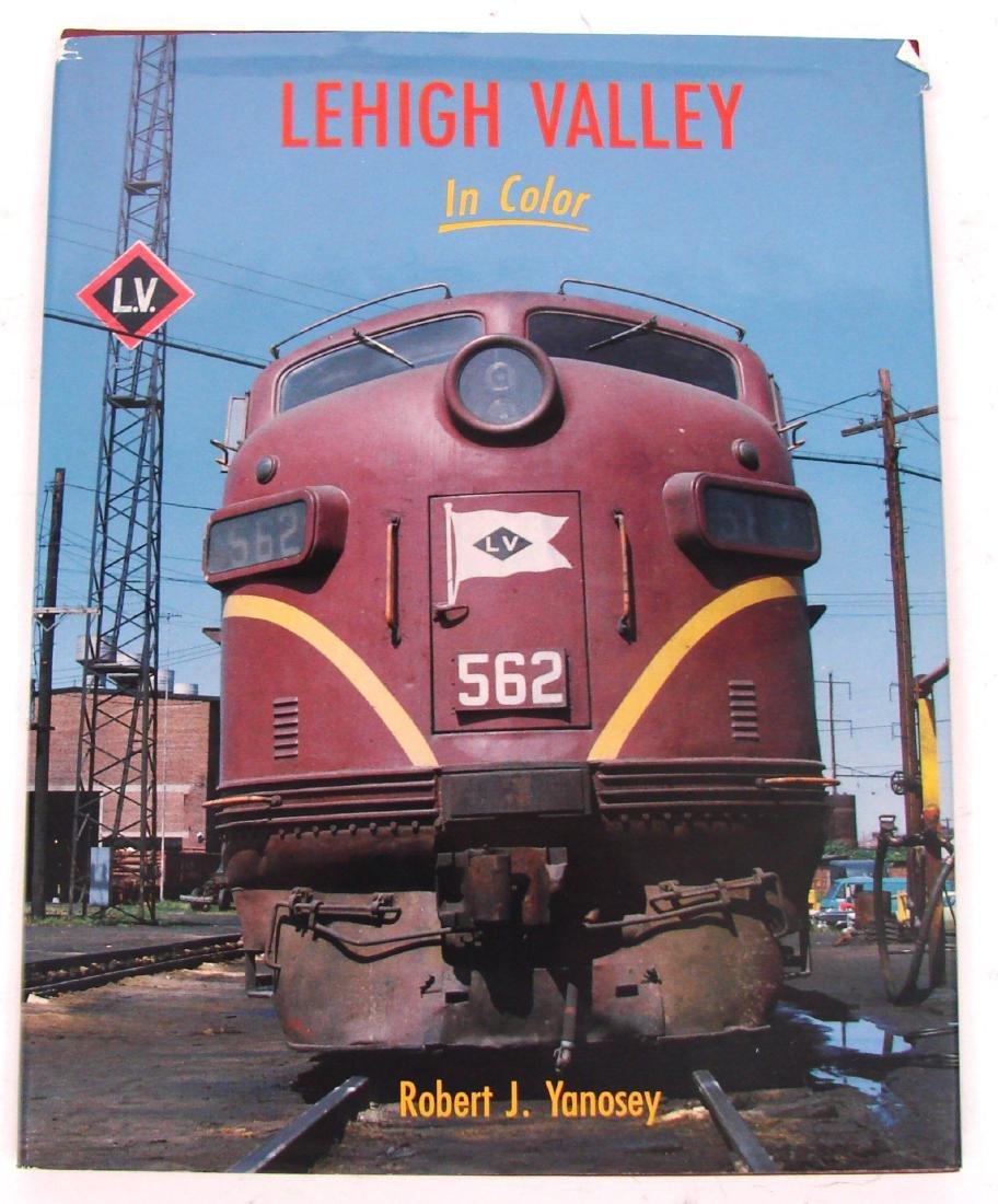 (3) LEHIGH VALLEY RAILROAD BOOKS - 5