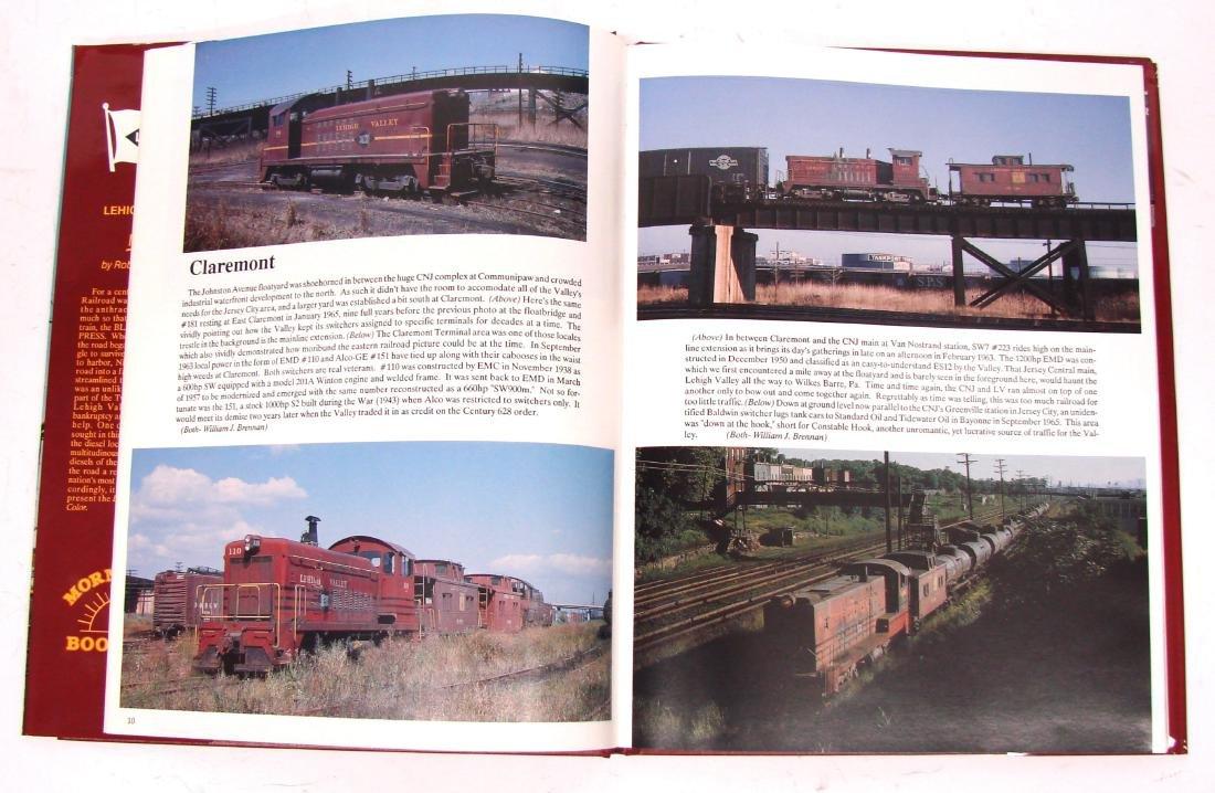 (3) LEHIGH VALLEY RAILROAD BOOKS - 6