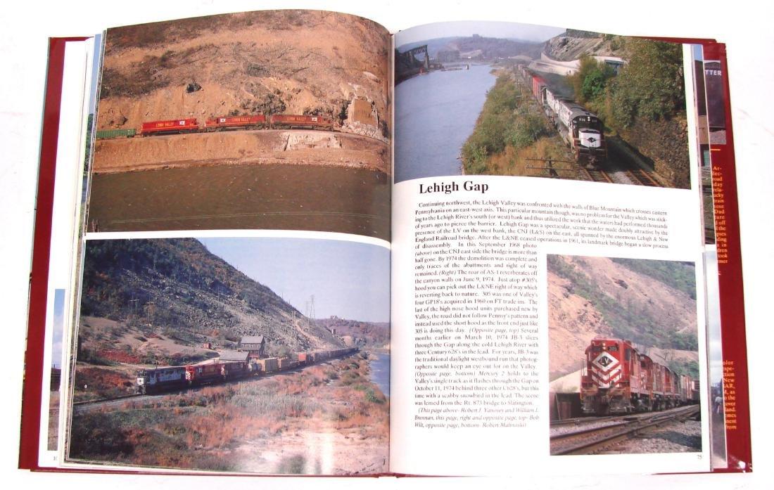 (3) LEHIGH VALLEY RAILROAD BOOKS - 7