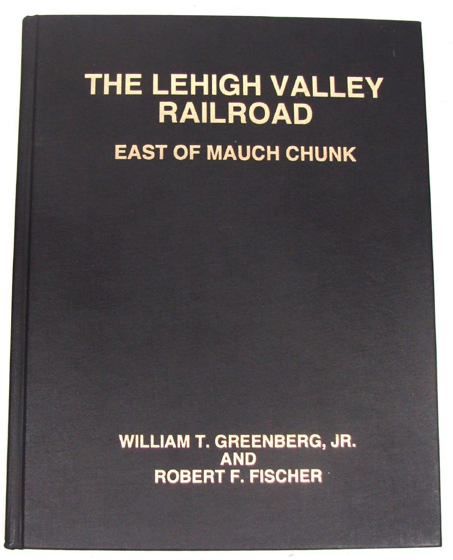 (3) LEHIGH VALLEY RAILROAD BOOKS - 8
