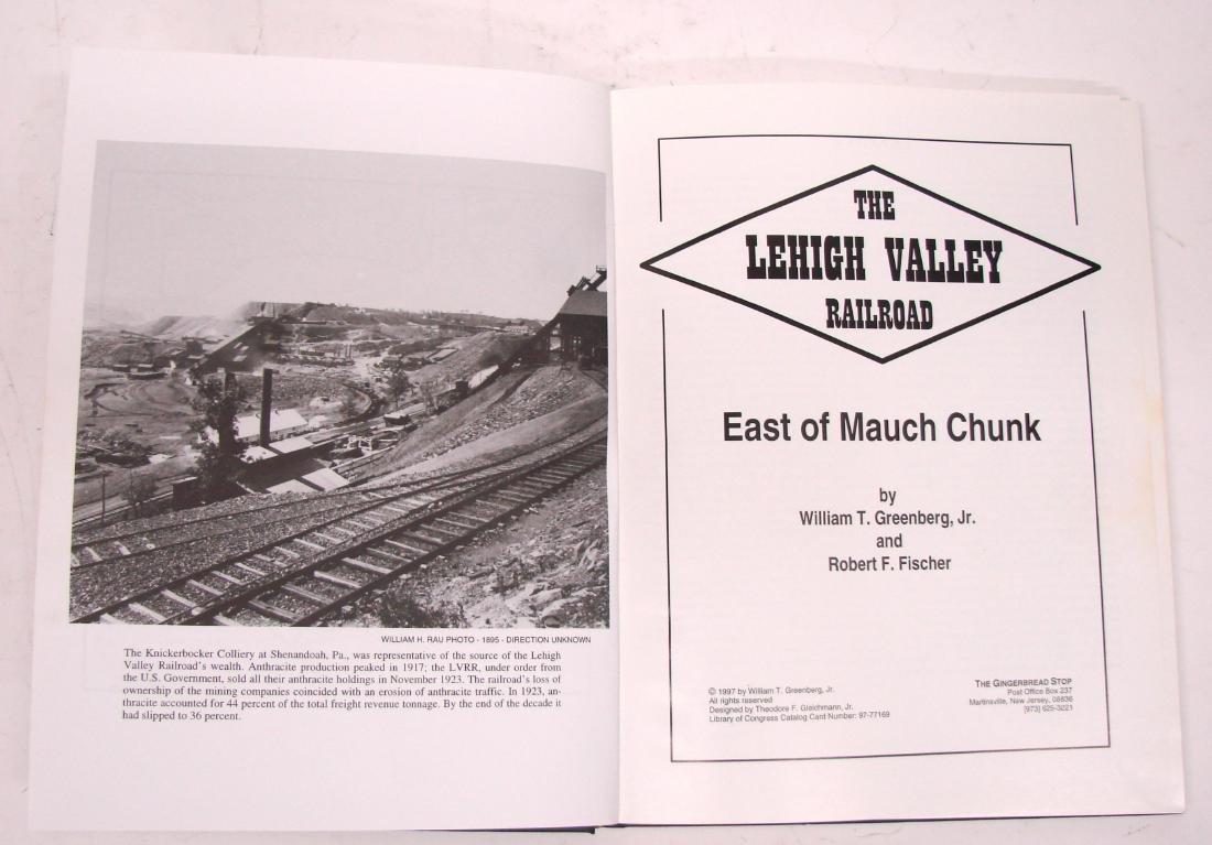 (3) LEHIGH VALLEY RAILROAD BOOKS - 9
