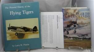 (2) WW2 THEME FLYING TIGER BOOKS - BARSDEN & PISTOLE,