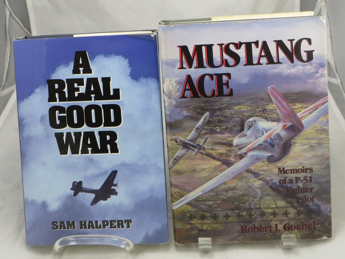 (2) WW2 AVIATION THEME BOOKS, HALPERT & GOEBEL