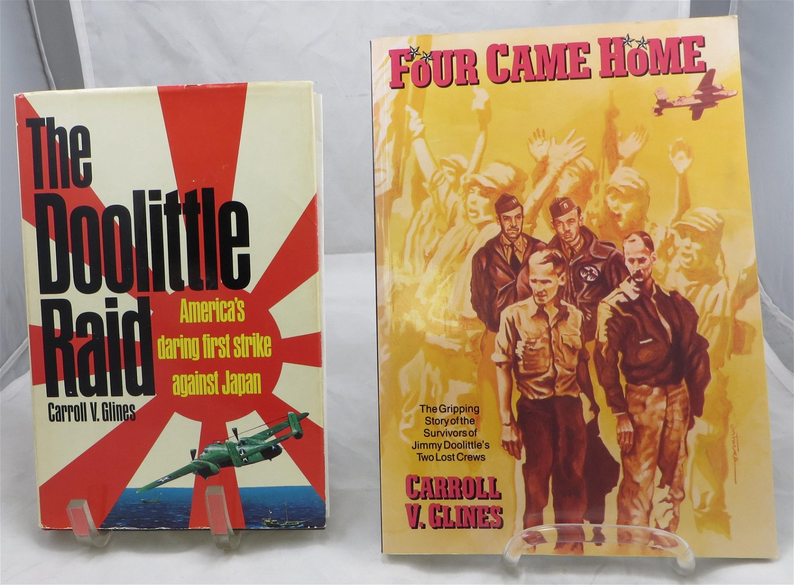 (2) WORLD WAR II BOOKS - DOOLITLE RAID
