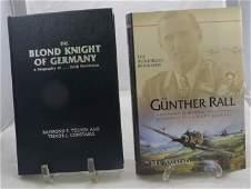(2) WORLD WAR 2 BIOGRAPHIES GUNTHER RALL & ERICH