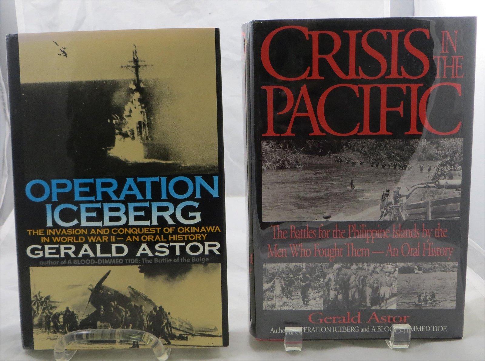 (2) WW2  BOOKS, ASTOR: OPERATION ICEBERG, CRISIS IN
