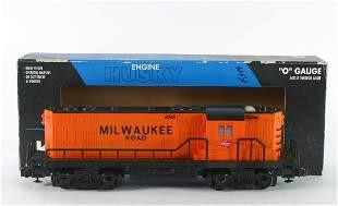 K-LINE HUSKY ENGINE MILWAUKEE ROAD GP7