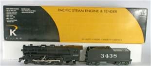 K-LINE PACIFIC STEAM ENGINE & TENDER