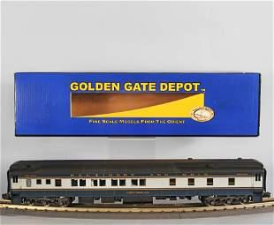 GOLDEN GATE DEPOT 8-1-2 B&O SLEEPER